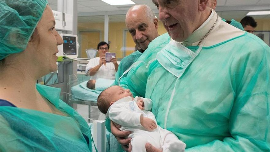 El papa asegura que la hospitalidad es la mayor seguridad contra el terrorismo