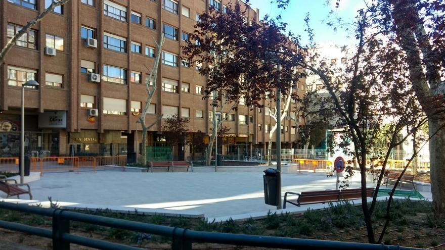 Vista del parque en Joaquín María López   SOMOS CHAMBERÍ