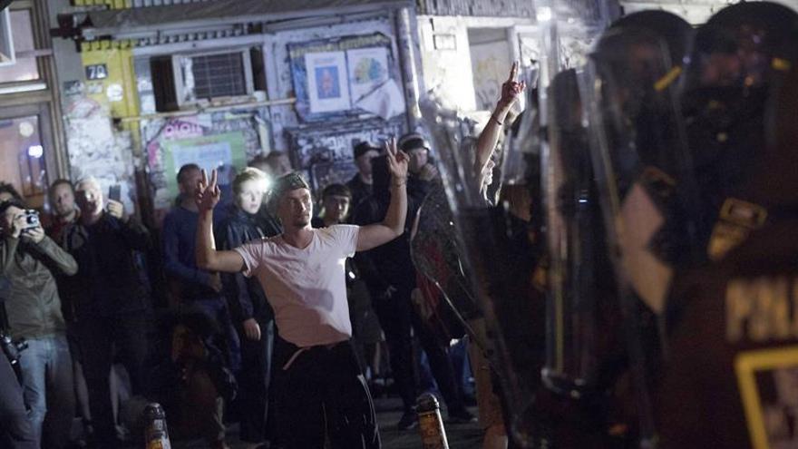 Cinco españoles detenidos en los disturbios durante la cumbre del G20
