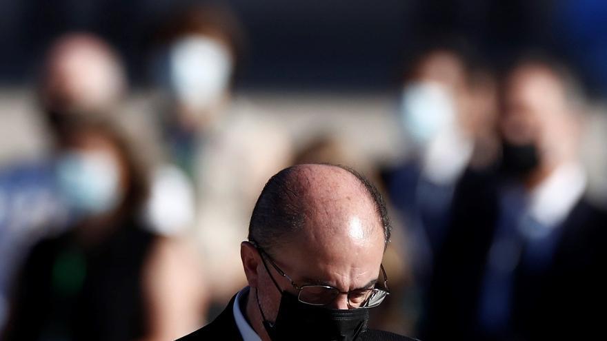"""Lambán admite que la situación es """"inquietante"""" por la velocidad del contagio"""