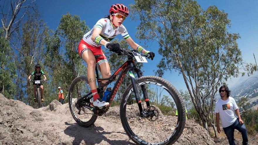 Raiza Goulao, virtual ganadora de la Andalucía Bike Race