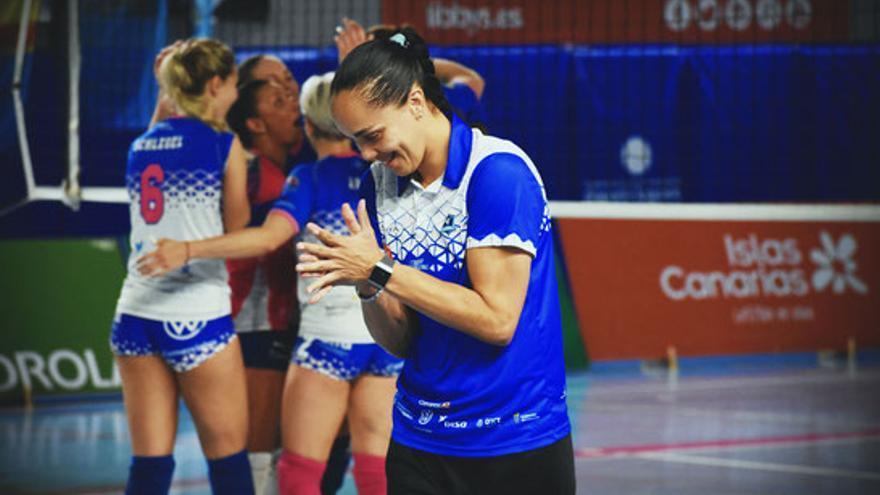 Flavia Dias, ex entrenadora del Sanaya Libby's La Laguna.