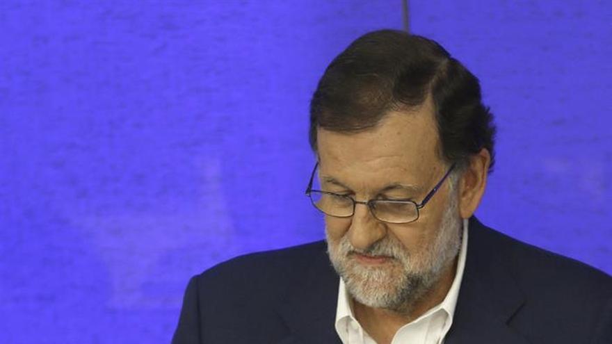 """Mariano Rajoy: """"El PP no ha venido a hablar de condiciones"""""""