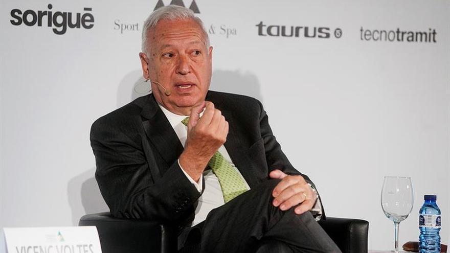 """García-Margallo, muy preocupado tras el """"brexit"""", aboga por hacer """"más Europa"""""""