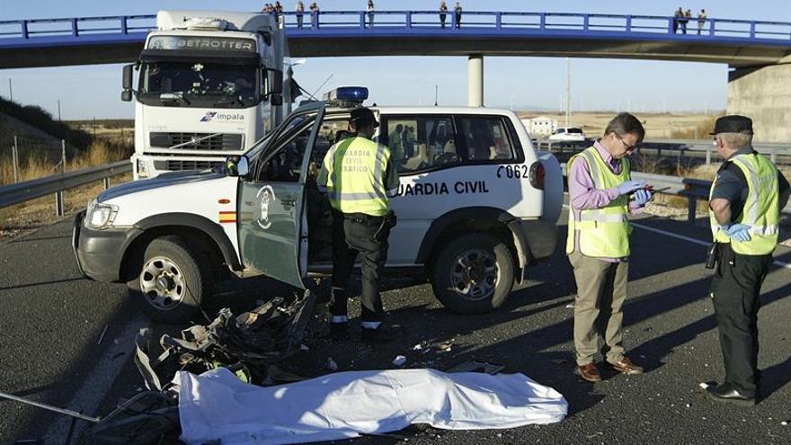 Al menos un muerto y siete heridos graves en un accidente de autobús en Soria