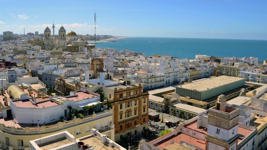 Vista desde la Torre Tavira.
