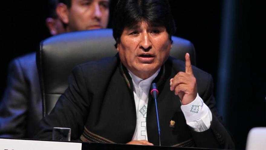"""Morales propone a la Celac espiar a EE.UU. para que haya """"seguridad mundial"""""""