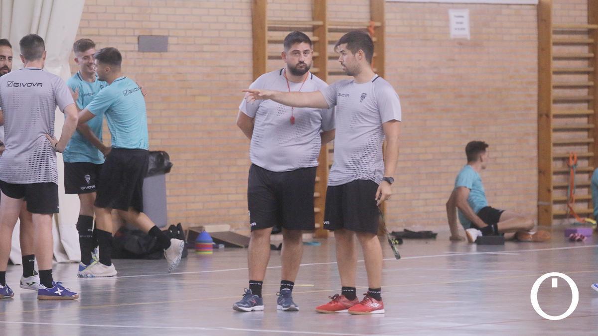 Josan González en un entrenamiento