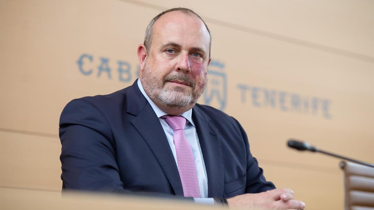 Enrique Arriaga, coordinador de Ciudadanos en Canarias
