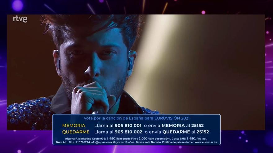 Críticas a 'Destino Eurovisión' por el error en las votaciones y la ejecución del programa