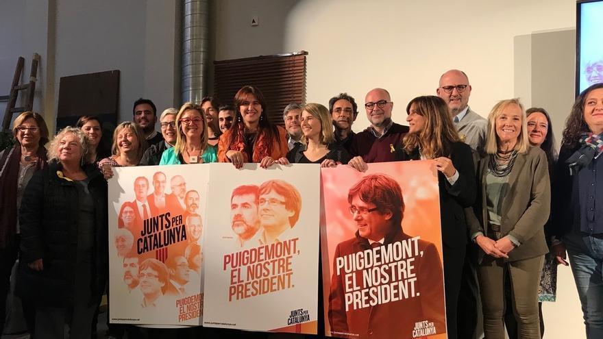 "JuntsxCat avisa que impulsar otro candidato que no sea Puigdemont es ""legitimar"" el 155"