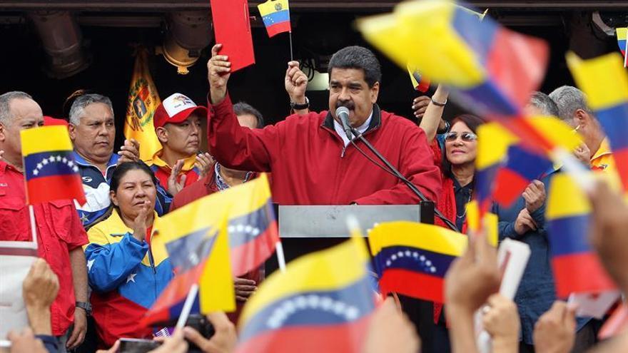 "Maduro a la oposición venezolana: ""Ríndanse, están derrotados"""