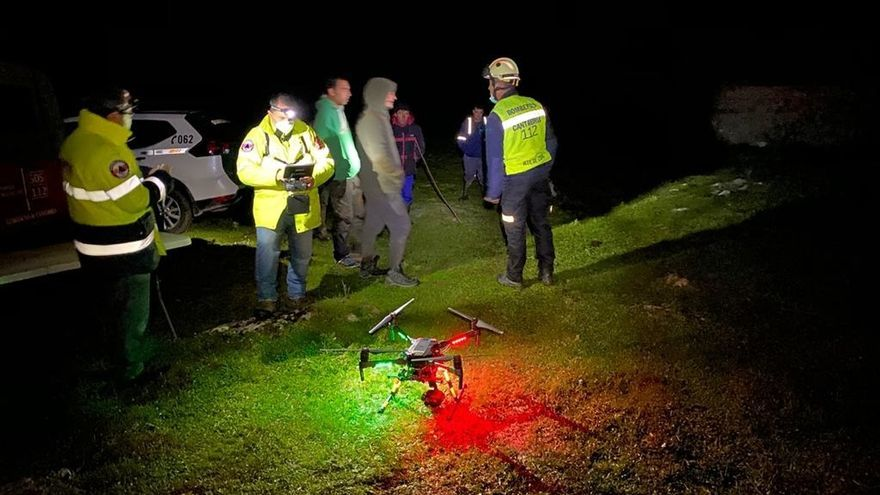 Buscan a un hombre de 31 años desaparecido en una zona de monte en Campoo de Suso