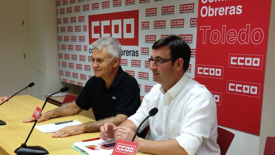 Daniel Martínez (IU) y José Luis Gil (CCOO), Castilla-La Mancha