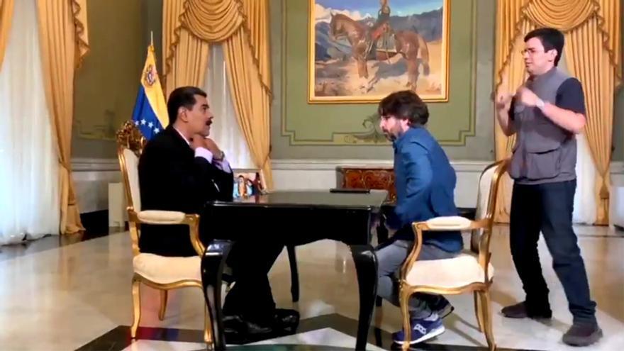 Maduro y Évole en Salvados