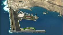 Proyecto de ampliación del Puerto de Las Nieves.
