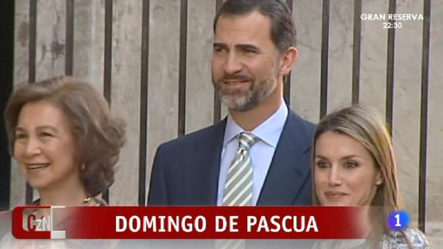 Es todo tan hermoso y plácido para la familia real en TVE...