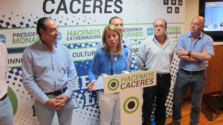 El PP pierde la mayoría absoluta en Cáceres y Elena Nevado ya habla de pactos