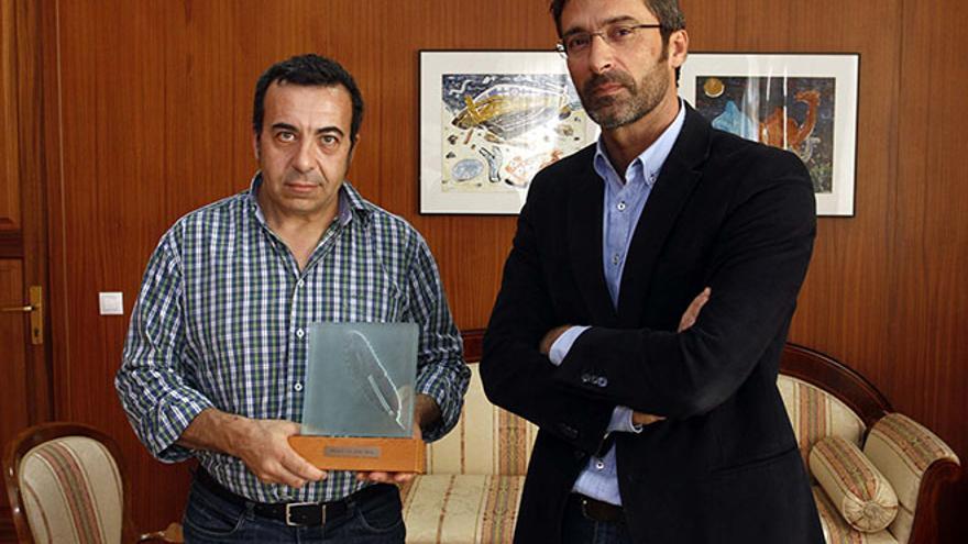 Ezequiel Navío y Pedro San Ginés. Diario de Lanzarote.