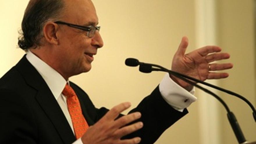 Coordinador económico del PP, Cristóbal Montoro