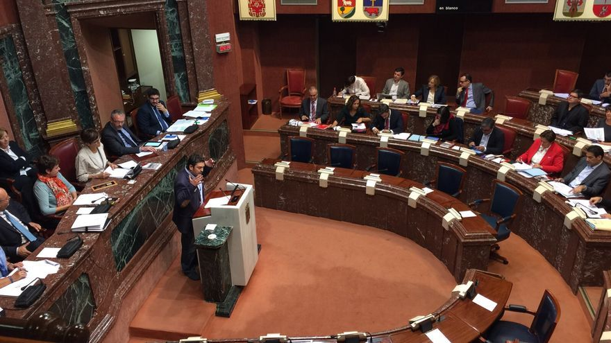 El Pleno de la Asamblea Regional de Murcia / MJA