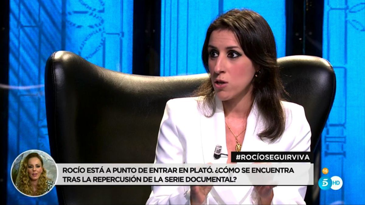 Ana Bernal Triviño en un capítulo de la serie documental de Rocío Carrasco