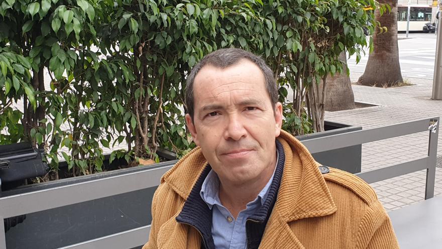 El ensayista Jordi Gracia, en Barcelona.