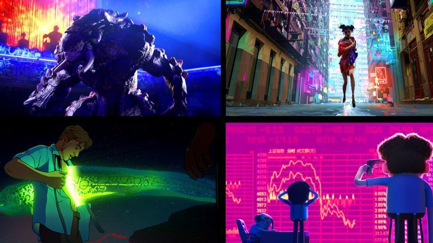 Netflix anuncia su primera serie antológica de animación creada por David Fincher y Tim Miller