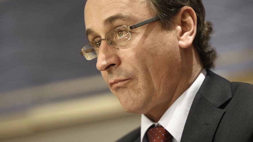 """Alfonso Alonso ve bien que Ortega Lara y Abascal creen su propio partido si no coinciden con el """"ideario"""" del PP"""