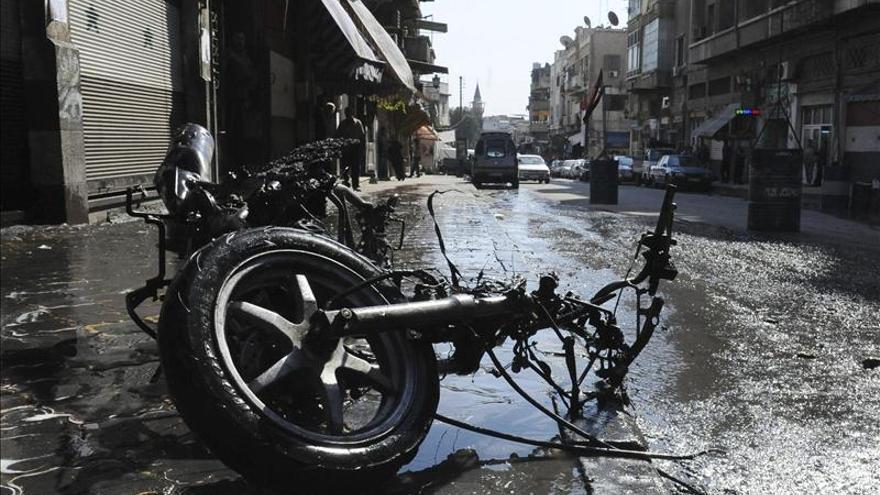 Al menos 5 menores muertos por el impacto de cohetes en el extrarradio de Damasco