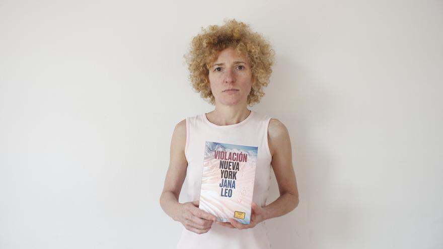 Jana Leo, la autora del libro 'Violación Nueva York'