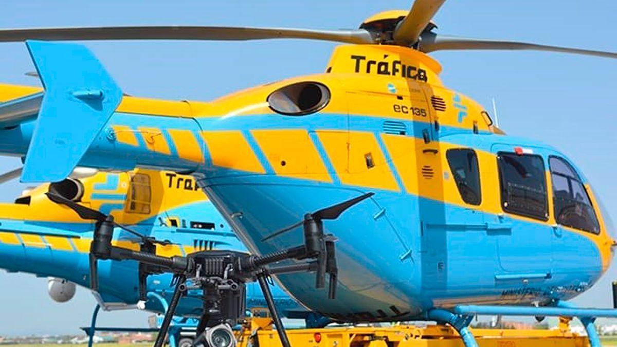 Helicópteros de Tráfico.