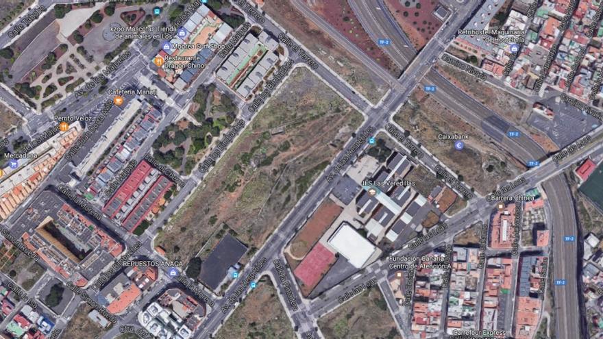 Parcela ubicada en la calle Los Bimbaches, en Santa Cruz de Tenerife