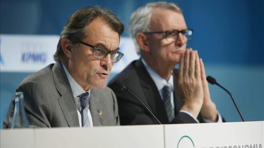 Mas oye inquietud empresarial y reta a Rajoy a una alternativa al soberanismo