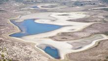 Grado de desecación alcanzado por la laguna de Santa Olalla en Doñana / Héctor Garrido (EBD-CSIC)