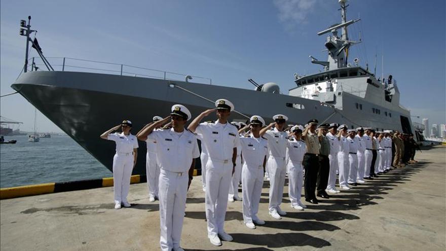 Buque colombiano arriba a Emiratos Árabes para actividades protocolarias