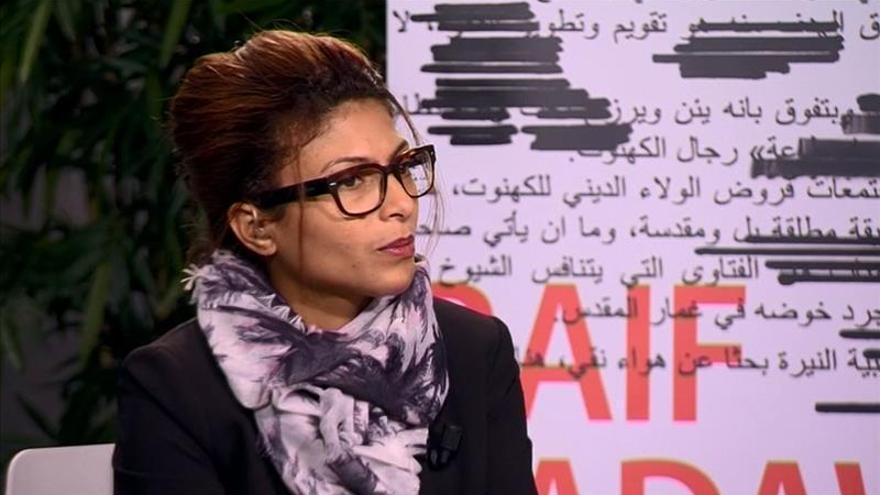 """Haidar: """"tuve que contarle a mis hijos que Raif es un preso de conciencia"""""""