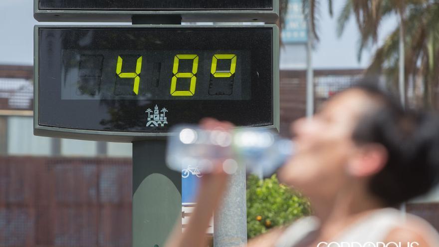 Altas temperaturas del verano de Córdoba.
