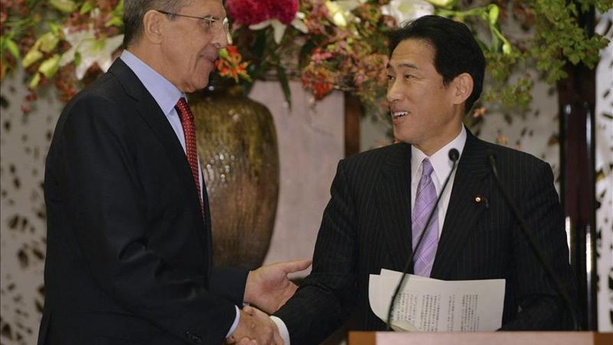 Japón y Rusia acuerdan reforzar la cooperación en materia de seguridad