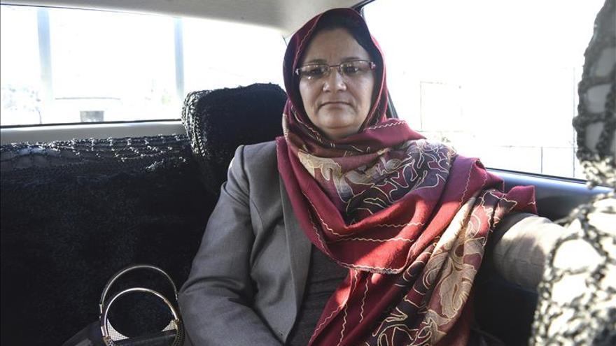 Gobernadora se compromete a luchar por la mujer afgana aunque le cueste la vida