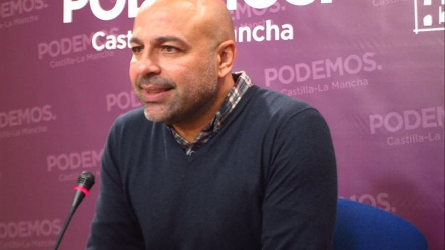 José García Molina.Secretario de Podemos Castilla-La Mancha