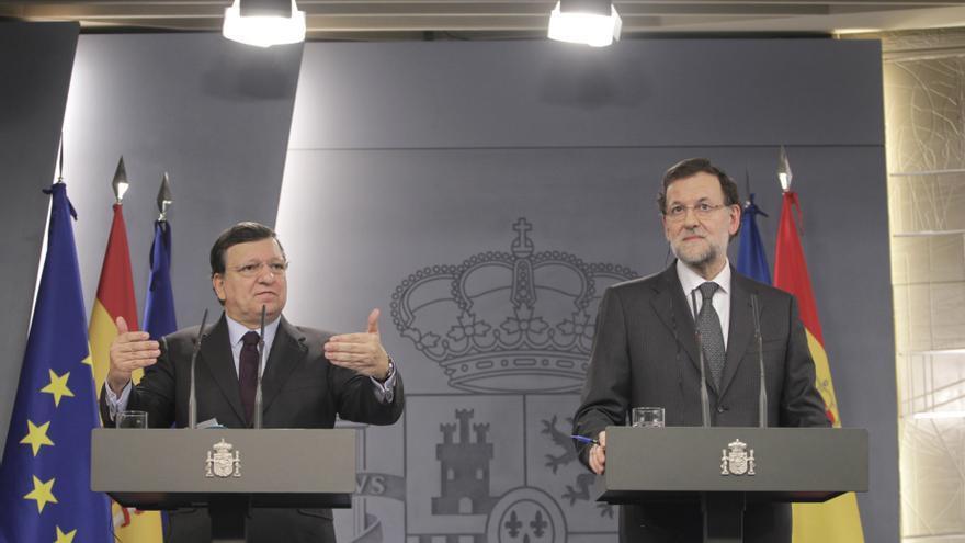 """Rajoy avisa, ante las europeas de mayo, que los """"'populismos"""" y los """"eurófobos"""" obstaculizarán la recuperación económic"""