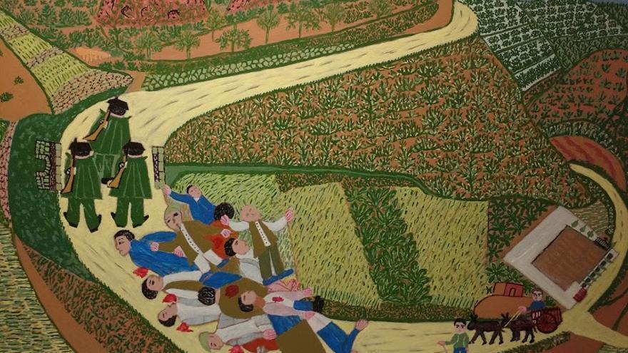 'El puente de Cañamón', de Felipe Estella.