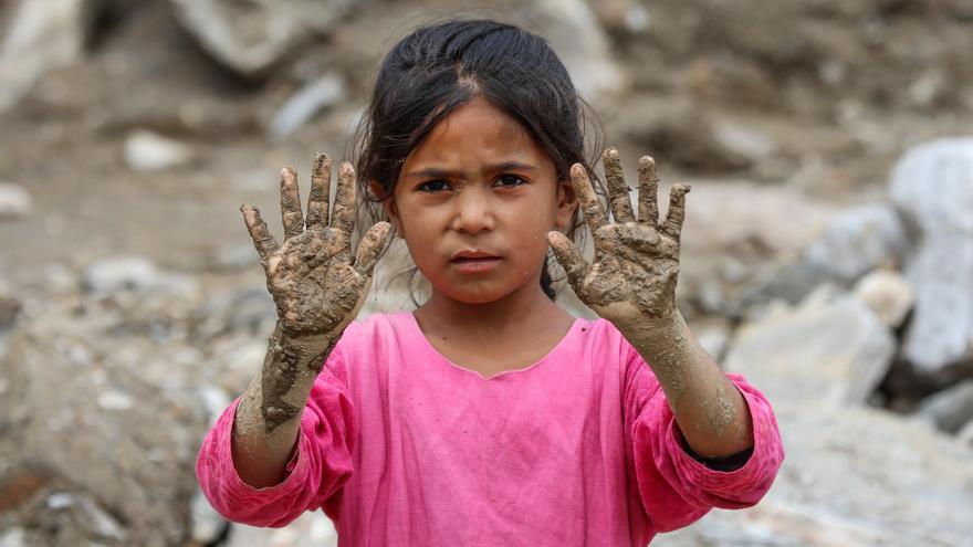 Millones de niños del sur de Asia están en riesgo por la crisis climática