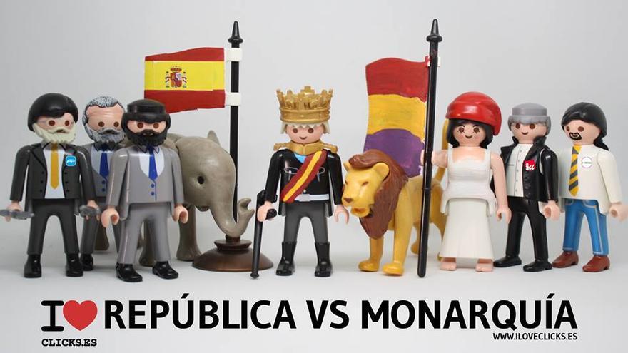 I love Monarquía vs República