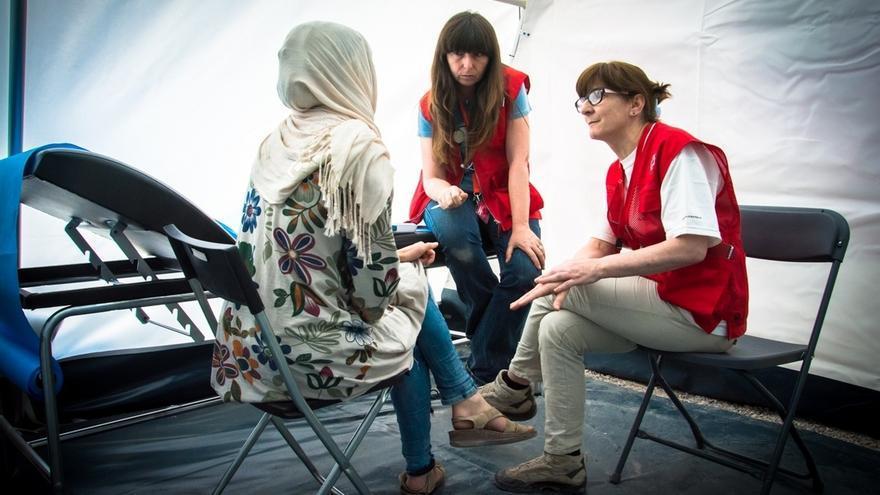 Cruz Roja Cantabria ha atendido a más de 400 personas solicitantes de asilo durante el último año