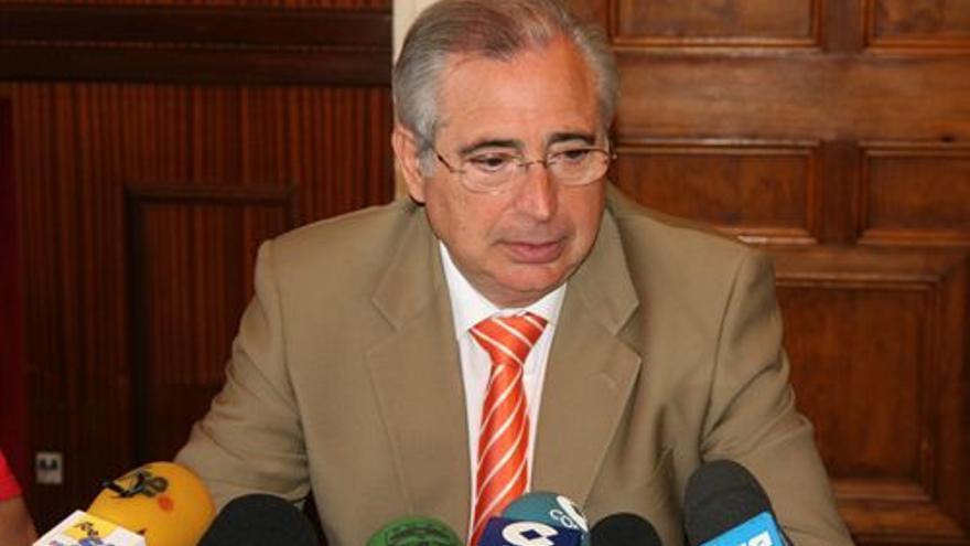 Juan José Imbroda. (EUROPA PRESS)