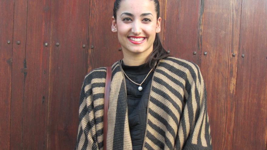La psicóloga Lucía Rodríguez ha realizado un estudio sobre el aspecto socioafectivo del ajedrez . Foto LUZ RODRÍGUEZ