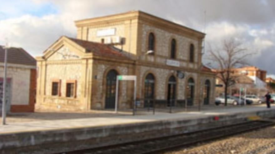 Estación de tren en Illescas (Toledo)