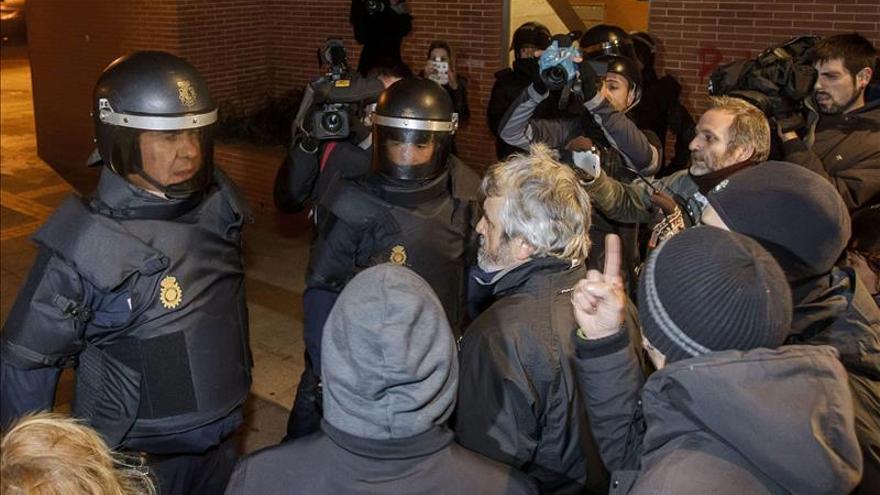 En libertad los cinco detenidos tras los disturbios de anoche en Burgos